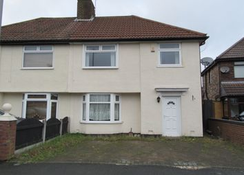 Thumbnail 3 bed semi-detached house to rent in Easton Road, Huyton
