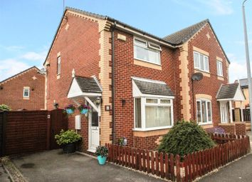 Thumbnail 2 bed semi-detached house for sale in St. Aidans Way, Hull