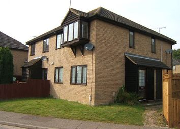 Thumbnail 1 bed terraced house to rent in Lyndhurst Drive, Bicknacre, Chelmsford