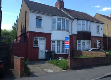Thumbnail 3 bed semi-detached house to rent in Dallow Road, Luton