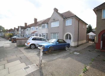 Thumbnail 3 bed end terrace house to rent in Ennismore Avenue, Greenford