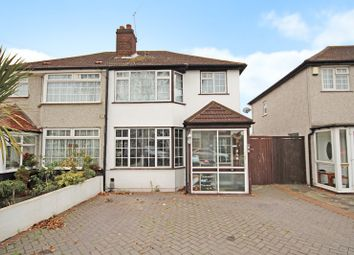 Thumbnail 3 bed detached house for sale in Porthkerry Avenue, South Welling, Kent