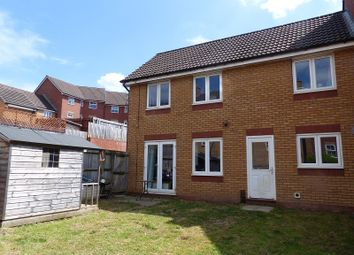 Thumbnail 3 bed terraced house for sale in Longacres, Bridgend, Bridgend.