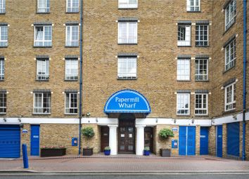 Thumbnail 1 bed flat for sale in Papermill Wharf, 50 Narrow Street, London