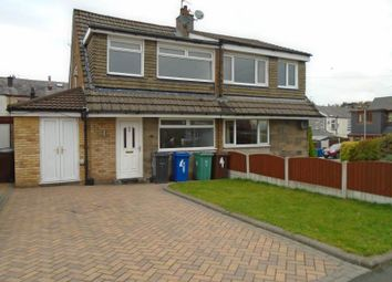 Thumbnail 3 bed semi-detached house to rent in Sandybrook Close, Bury