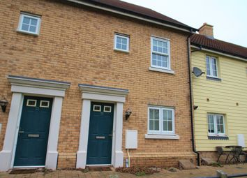 Thumbnail 2 bed terraced house to rent in River Bank Walk, Colchester, Essex
