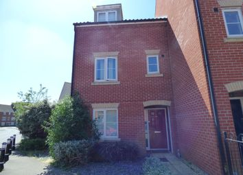Thumbnail 4 bedroom town house to rent in Bruff Road, Ipswich