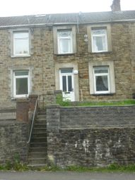 Thumbnail 3 bed terraced house to rent in Oxford, Pontycymer, Bridgend
