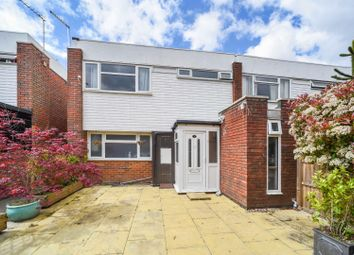 Thumbnail 3 bed terraced house for sale in Brantwood Gardens, West Byfleet