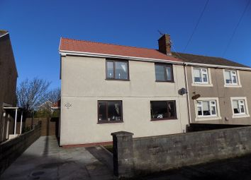 Thumbnail 3 bed semi-detached house for sale in Seaward Avenue, Port Talbot, Neath Port Talbot.