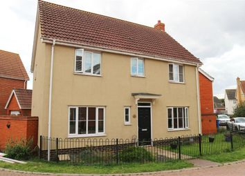 Thumbnail 4 bed detached house for sale in Killick Crescent, Carlton Colville, Lowestoft, Suffolk