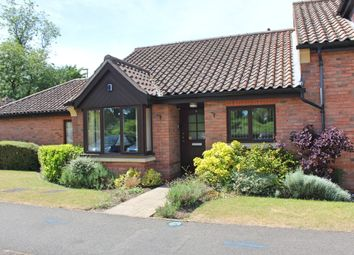 Thumbnail 2 bed terraced bungalow for sale in Honeywell Close, Oadby, Leicester