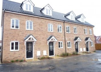 Thumbnail 3 bed town house to rent in Friesian Close, Beck Row