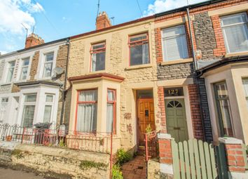 Thumbnail 3 bed terraced house for sale in Glenroy Street, Roath, Cardiff