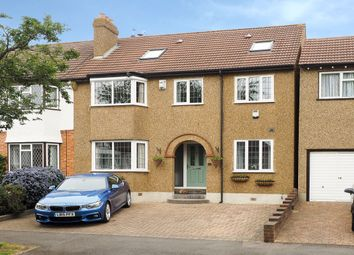 Thumbnail 6 bed semi-detached house for sale in Burleigh Road, North Cheam, Sutton