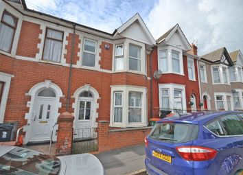 Thumbnail 3 bed terraced house for sale in Stunning Bay-Fronted House, Rosslyn Road, Newport