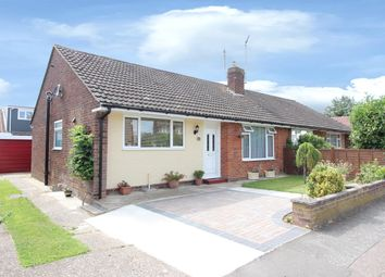 Thumbnail 2 bed semi-detached bungalow for sale in Grasmere Road, Kennington, Ashford, Kent