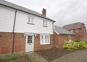 Thumbnail 3 bed semi-detached house for sale in Elan Close, Kings Hill, West Malling
