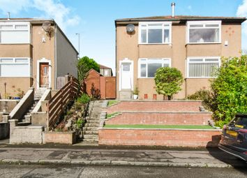 Thumbnail 2 bed semi-detached house for sale in Randolph Drive, Stamperland, Glasgow