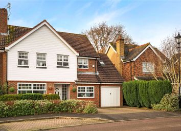Thumbnail 4 bed detached house for sale in Warren Drive, Southwater, Horsham