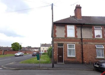 Thumbnail 2 bed end terrace house for sale in Gordon Street, Burton On Trent, Staffordshire