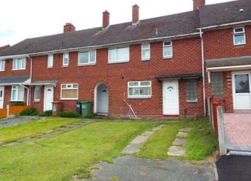 Thumbnail 3 bedroom terraced house for sale in Cresswell Crescent, Walsall, West Midlands