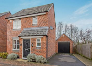 Thumbnail 3 bed detached house for sale in Hoffler Close, Countesthorpe, Leicester