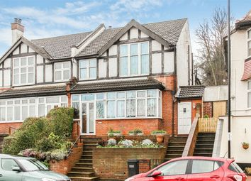Thumbnail 4 bed semi-detached house for sale in Grasmere Road, Purley