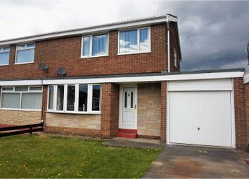 Thumbnail 3 bed semi-detached house for sale in Whernside Place, Cramlington