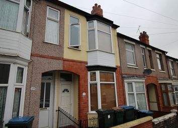 Thumbnail 4 bed terraced house to rent in Melbourne Road, Coventry