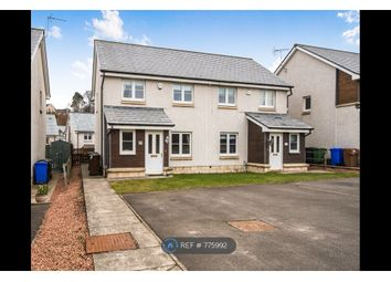 Thumbnail 3 bed semi-detached house to rent in Wordie Road, Stirling
