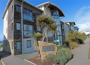 Thumbnail 3 bed flat for sale in Pentire Avenue, Newquay
