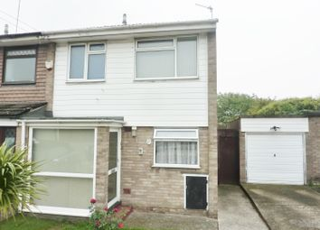 Thumbnail 2 bed end terrace house for sale in Monks Close, Abbey Wood, London