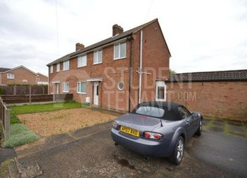 Thumbnail 3 bed shared accommodation to rent in Millards Close, Bedford, Bedfordshire