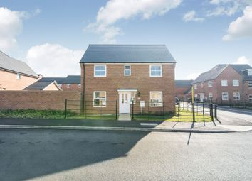Thumbnail 3 bed detached house for sale in Loom Crescent, Andover