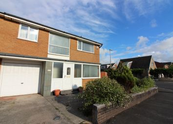 Thumbnail 3 bed semi-detached house for sale in Ashfield Road, Cleveleys