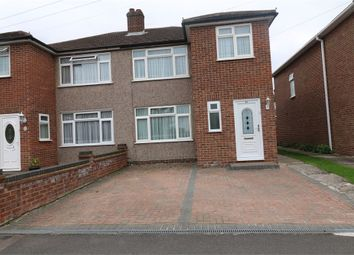 Thumbnail 3 bed semi-detached house to rent in Roundmoor Drive, Cheshunt, Hertfordshire