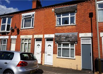 Thumbnail 2 bed terraced house for sale in Chartley Road, Leicester