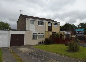 Thumbnail 3 bedroom semi-detached house for sale in Brangwyn Close, Pinewood Estate, Swansea