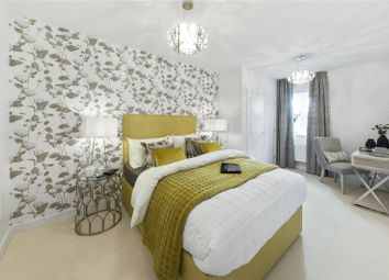 Thumbnail 2 bed flat for sale in Felcott Road, Hersham, Walton-On-Thames, Surrey