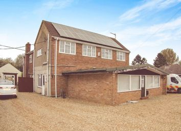 Thumbnail 4 bedroom detached house for sale in Listers Road, Upwell, Wisbech