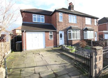 Thumbnail 3 bed semi-detached house for sale in Wortley Avenue, Trowell, Nottingham