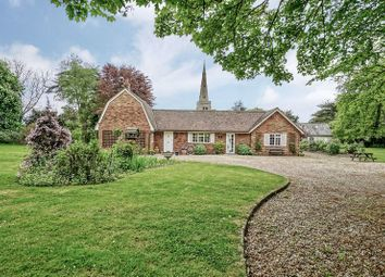 Thumbnail 3 bed detached house for sale in Church Road, Colmworth, Bedford
