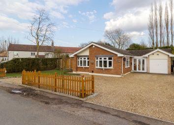 Thumbnail 3 bed detached bungalow for sale in School Road, Tilney All Saints, King's Lynn