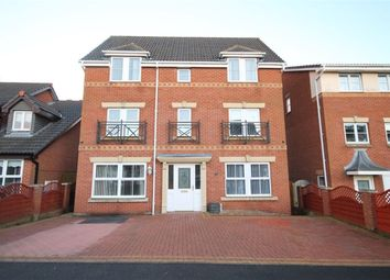 Thumbnail 4 bed detached house for sale in Rushmore Drive, Widnes