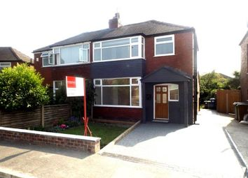 Thumbnail 3 bedroom semi-detached house for sale in Ashley Road, Offerton, Stockport, Cheshire