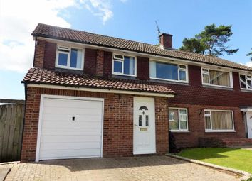 Thumbnail 4 bed semi-detached house for sale in Malta Close, Dorchester, Dorset