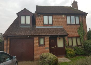 Thumbnail 4 bed detached house to rent in The Hawthorns, Reading