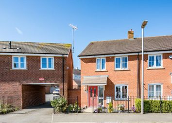 Thumbnail 3 bed semi-detached house for sale in St. Lucia Crescent, Bletchley, Milton Keynes