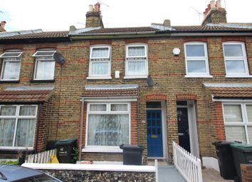 Thumbnail 2 bed terraced house to rent in Churchill Road, Gravesend, Kent